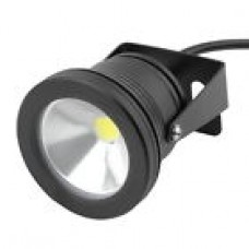 10W LED Flood Light, 12v., black case